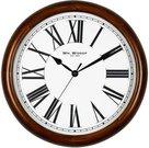 Laikrodis sieninis H:39 W:39 D:6 cm W7801 romėniškais skaitmenimis
