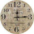 Laikrodis sieninis MDF 34x34x4 cm 105639