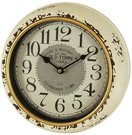 Laikrodis sieninis metalinis sendintas 24,5x24,5x6 cm 101176