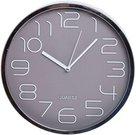 Laikrodis sieninis sidabro spalv. Dia 30cm 2339