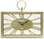 Laikrodis sieninis stačiakampis metalinis 45x51,5x4,5 cm 108892