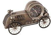 Laikrodis stalinis Senovinė lenktynių mašina H:25 W:42 D:16 cm HM1113 isp.