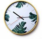 Laikrodis Tropikų lapai diam 30 cm W7964 viddop