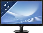"LED 18.5"" 193V5LSB2/10 1366x768 16:9 10M:1 (typ 700:1) 200cd 5ms VGA, VESA, ""EPEAT Silver"",c:Black"