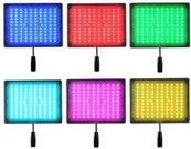 LED šviestuvas YongNuo YN600RGB 3200-5500K