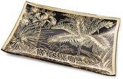 Lėkštė dekoratyvinė su palmių piešiniu 1,2x20x20 cm 131279