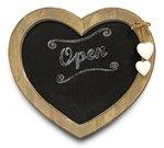 Lenta užrašams širdelės formos 30.5x2.5x27 cm 69047 DDM
