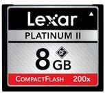 Lexar 8GB 200X Platinum II CF Card