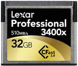 Lexar CFast 2.0 32GB 3400x Professional