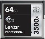 Lexar CFast 2.0 64GB 3500x Professional