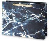 Maišelis dovanoms su mėlyno marmuro piešiniu 31x41x13 cm 135328