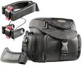 mantona Set Premium Biker Photo Bag incl. 2 Adapter