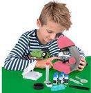 Mikroskopas Bresser Junior 40-640x - rožinis