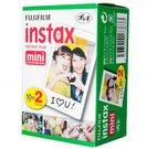 Fujifilm Fotoplokštelės Instax MINI 20vnt.