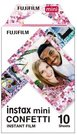Momentinės fotoplokštelės INSTAX MINI CONFETTI (10pl)
