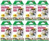 Momentinės fotoplokštelės instax mini GLOSSY(10plx2) x 8 pakuotės
