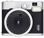 Fujifilm Instax Mini 90 Neo Classic (Juodas) + 10 Fotoplokštelių