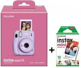 Momentinis fotoaparatas instax mini 11 Lilac Purple+instax mini glossy (10pl)