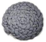 Newborn Mohair Wool Nest Grey MWNG 300 x 6 cm
