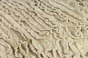 Newborn Ruffle Blanket Beige BERF