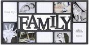 Nielsen Family Collage black Plastic Gallery Frame 8999332