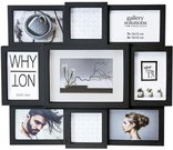 Nielsen Why Not Collage black Plastic Gallery Frame 8999334
