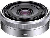 Objektyvas Sony E 16mm F2.8 Pancake