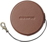 Olympus LC-60.5GL BRW leather Lens Cap 60.5 mm brown