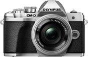 Olympus OM-D E-M10 mark III + 14-42mm f/3.5-5.6 II R (Sidabrinis)