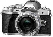 Olympus OM-D E-M10 Mark III + 14-42mm EZ (sidabrinis)