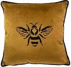 Pagalvėlė veliūrinė garstyčių spl. su bite 40x40 cm 624