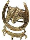Pakaba su arkliais ir pasaga 19,5x14 cm 86572 aukso spalvos