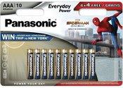 Panasonic Everyday Power battery LR03EPS/10BW (6+4) S-M