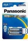 1x2 Panasonic Evolta LR 03 Micro maitinimo elementai