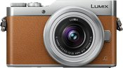 Panasonic Lumix DC-GX800 Kit orange/silber + H-FS 12-32 mm