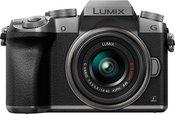 Panasonic Lumix DMC-G7 + 14-42mm (Sidabrinis)