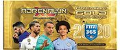 Panini football cards FIFA 365 2020 Premium Gold