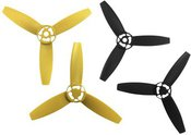 Parrot Bebop Drone Propellers yellow / black