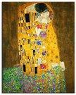 Paveikslo Klimt. Bučinys reprodukcija 40x50cm 92944 G92504