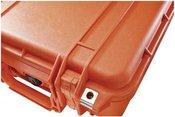 Peli Protector 1400 orange with pre-cut foam