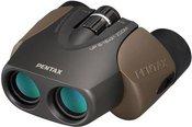 Pentax binoculars UP 8-16x21 W/C, brown