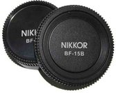 Pixel Lens Rear Cap BF-15L + Body Cap BF-15B for Nikon