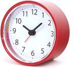 Platinet alarm clock Sunday, red (43726)