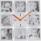 Platinet wall clock Family (42568)