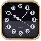 Platinet wall clock Morning, black (42987)