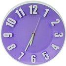 Platinet wall clock, purple (42992)