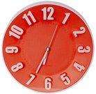 Platinet wall clock, red (42989)