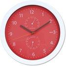 Platinet настенные часы Summer, красные (42574)