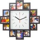 Platinet wall clock Sunset (43249)
