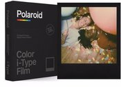 POLAROID COLOR FILM I-TYPE BLACK FRAME EDITION